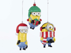 Despicable Me Minions Ornaments Set of 3