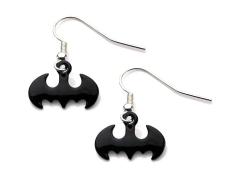 DC Comics Batman Hook Dangle Earrings