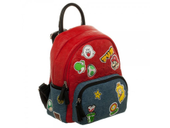 Super Mario Bros. Character Patches Mini Handbag
