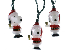 Peanuts Snoopy in Santa Suit Light Set - Ships to USA Only