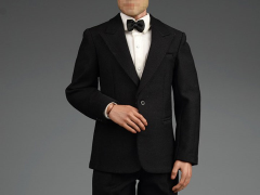 1/6 Scale Retro Gentleman Suit Set (Black)