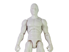 Vitruvian H.A.C.K.S. Male Figure Blank (Cloud White)