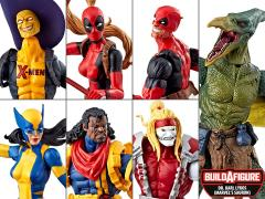 Deadpool Marvel Legends Wave 2 Set of 6 Figures (Sauron BAF)