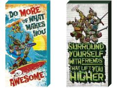 TMNT Inspirational Canvas Art Set of 2