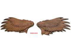Mythic Legions Advent of Decay Feathered Wings (Brown)