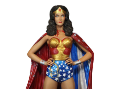 Wonder Woman (Season One) Cape Variant Exclusive Maquette
