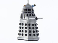 Doctor Who Silver Warrior Dalek Ornament