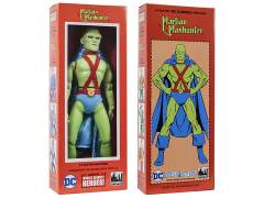 "DC World's Greatest Heroes Martian Manhunter Mego Style Boxed 8"" Figure"
