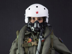 Chinese Pla Air Force Female Aviator 1/6 Scale Figure