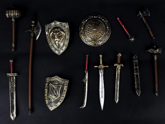 All In One Art Fantasy (Copper) 1/18 Scale Weapon Set