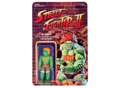 Street Fighter II Retro Action Blanka Figure