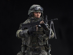 Chinese People's Liberation Army Machine Gunner 1/6 Scale Figure