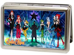 Sailor Moon Villains Group Pose Metal ID Wallet