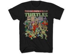 TMNT Whole Crew Here T-Shirt