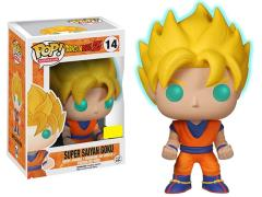 Pop! Animation: Dragon Ball Z - Super Saiyan Goku (Glow-In-The-Dark) Exclusive