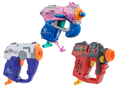 Overwatch NERF Set of 3 Microshots