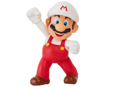 "World of Nintendo 2.50"" Fire Mario (Fist Bump) Figure"