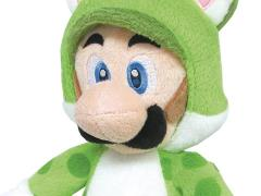 "Super Mario 10"" Luigi (Cat) Plush"
