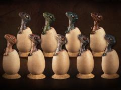 Velociraptor mongoliensis Hatchlings 1/6 Scale Blind Box of 9 Figures