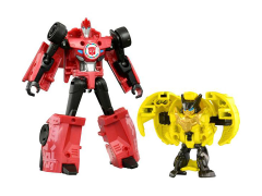 Transformers Adventure TAV-43 Sideswipe With Barithunder & Armor