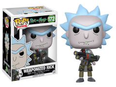 Pop! Animation: Rick & Morty - Weaponized Rick