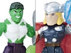 Marvel Super Hero Adventures Power Up Hulk and Thor Two-Pack