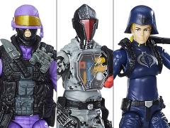 G.I. Joe 50th Anniversary Wave 1 Cobra Legion Squad Three Pack BBTS Exclusive