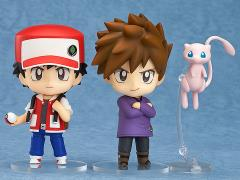 Pokemon Nendoroid No.612 Trainer Red & Green Set