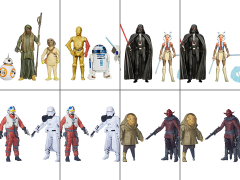 "Star Wars 3.75"" 2-Packs Wave 1 Case of 8"