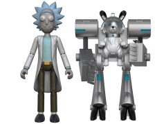 "Rick and Morty Series 1 Rick 5"" Articulated Action Figure (Snowball Parts)"