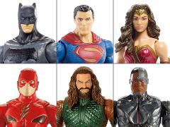 Justice League Basic Figure Wave 3 Set of 6 Figures