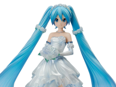 Vocaloid Hatsune Miku (Wedding Dress Ver.) 1/7 Scale Figure
