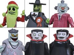 Nightmare Before Christmas Minimates Series 5 Two Pack Set of 3