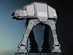 Star Wars AT-AT SDCC 2018 Exclusive Enamel Pin