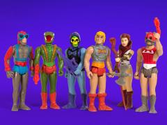 Masters of the Universe ReAction Figures Wave 3 Set of 6