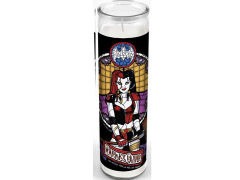 DC Comics Stained Glass Candle - Harley Quinn