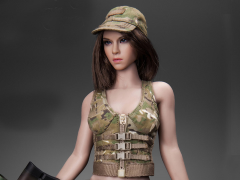 Military Female Character (Tan) 1/6 Scale Accessory Set