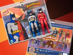 "Super Friends World's Greatest Heroes Batman (Universe of Evil) 8"" Retro Figure Two-Pack"