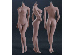 Super-Flexible 1/6 Scale Seamless Female Body (Suntan Middle Breast)