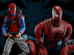 Marvel Peter Parker & Spider-Man 1/6th Scale Collectible Figure Set