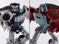 Master Mini MM-VI Boost & MM-VII Hatch Metallic Set (Toy Ver. 2)