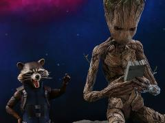 Avengers: Infinity War MMS476 Groot & Rocket 1/6 Scale Collectible Figure Set