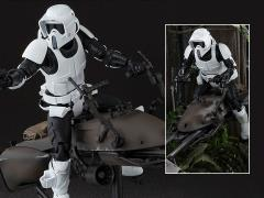 Star Wars S.H.Figuarts Biker Scout & Speeder Bike (Return of the Jedi)