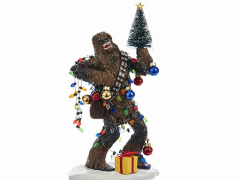 Star Wars Chewbacca & Christmas Tree Table Piece