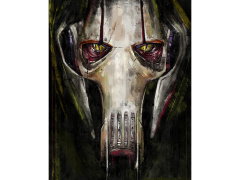 Star Wars Grievous SDCC 2018 Exclusive Giclee on Canvas