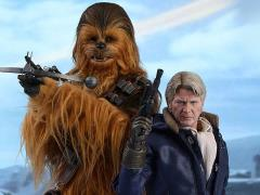 Star Wars: The Force Awakens MMS376 Han Solo & Chewbacca 1/6th Scale Collectible Figures Set + $200 BBTS Store Credit Bonus