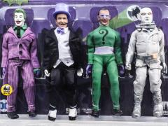 "Batman Classic TV Series The Assailants of Gotham City 8"" Retro Figure Four Pack BBTS Exclusive (LE 25)"