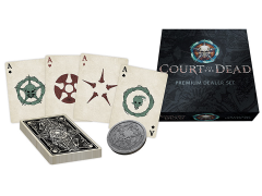 Court of the Dead Premium Playing Cards Dealer Set