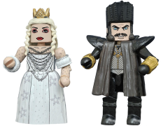 Alice Through the Looking Glass Minimates Series 1 Time & White Queen