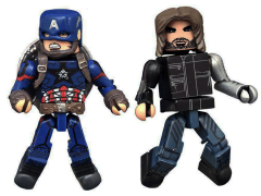 Captain America: Civil War Minimates Captain America & Winter Soldier
